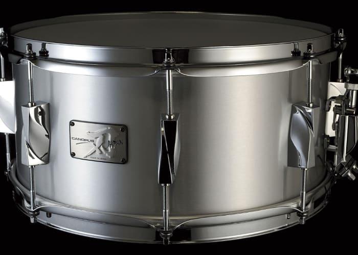 """CANOPUSのアルミスネア""""刃"""" YAIBA Aluminium Snare Drumの口コミと評価レビュー"""